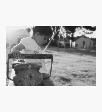 Child at play Photographic Print