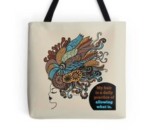 Natural Hair Is Beautiful Tote Bag