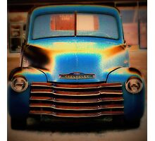 Chevy Beauty Photographic Print