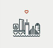 boston LOVE by sophcklein