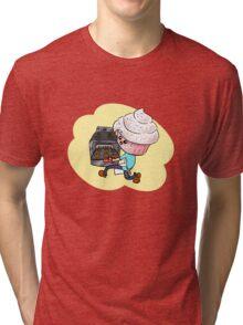 Cupcakeman Tri-blend T-Shirt
