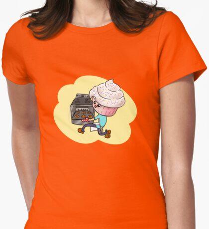 Cupcakeman Womens Fitted T-Shirt