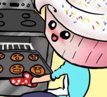 Cupcakeman Sticker