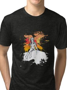 Strike a pose Tri-blend T-Shirt