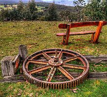 Rusted and Rested - Red Bubble Rumble -Hill End Easter 2011, NSW Australia - The HDR Experience by Philip Johnson