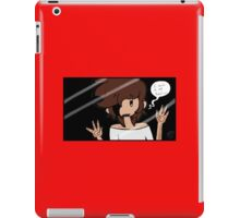 I want to be real iPad Case/Skin