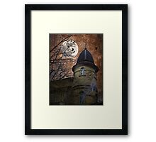 Castle with ghosts. Country of Harry Potter. Framed Print