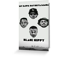 tde black hippy los angeles Greeting Card