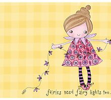 Faries need fairy lights too! by stamptout