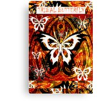 """TRIBAL BUTTERFLY""""S Canvas Print"""