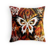 """TRIBAL BUTTERFLY""""S Throw Pillow"""