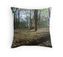 The Wildlife Reserve in Kerala Throw Pillow