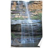 Wentworth Falls/2nd drop. Poster
