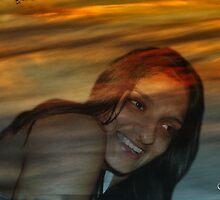 Soniya in Sunset by Gilberte