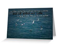 Life's Lessons © Vicki Ferrari Photography Greeting Card