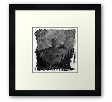 The Atlas of Dreams - Plate 11 (b&w) Framed Print