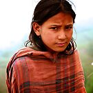 Newari Girl by David Reid