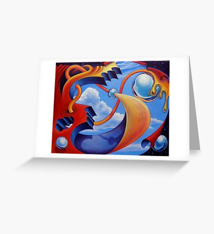Sinbad; Lost in Spaces Greeting Card