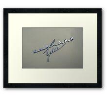 Karmann Ghia Framed Print