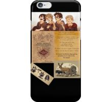 The Maruders of Harry Potter  iPhone Case/Skin