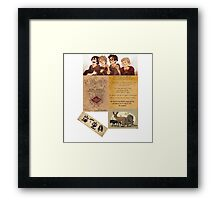 The Maruders of Harry Potter  Framed Print