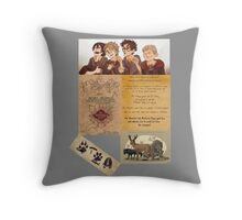 The Maruders of Harry Potter  Throw Pillow