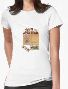 The Maruders of Harry Potter  Womens Fitted T-Shirt