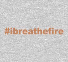 #ibreathefire - I Breathe Fire - T-Shirt (Pumpkin) One Piece - Long Sleeve