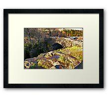 Birks Bridge - River Duddon Framed Print