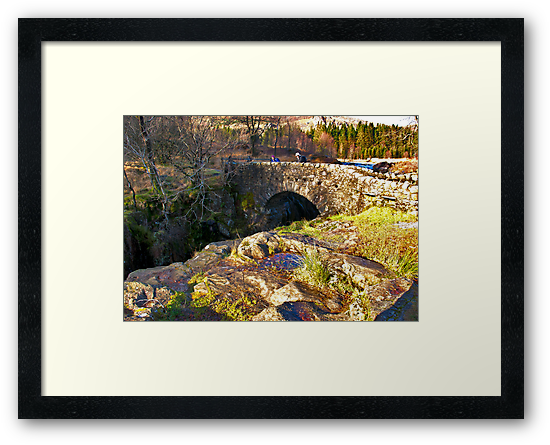 Birks Bridge - River Duddon by Trevor Kersley