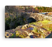 Birks Bridge - River Duddon Canvas Print