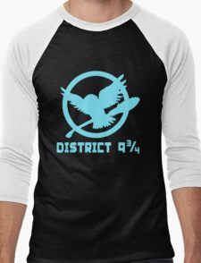 District 9 34 Funny Men's Baseball ¾ T-Shirt