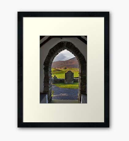 From the Church at Ulpha Framed Print