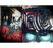 Collaboration with Mark Devas. Photographic Print