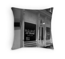 The Old Sweet Shop ~ Jonesborough Tennessee Throw Pillow