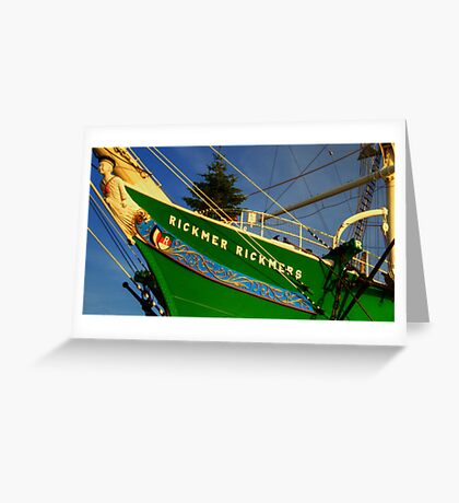 The Rickmer Rickmers Greeting Card