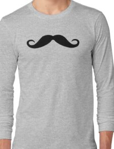 Moustache Long Sleeve T-Shirt