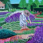 In the garden of dreams - Acrylic Fine Art Painting by Rick Short