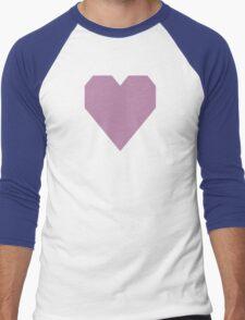 Opera Mauve  Men's Baseball ¾ T-Shirt