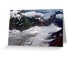 Being a glacier ain't all it's cracked up to be! Greeting Card