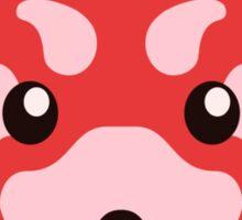 Judgemental Red Panda Sticker