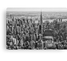King of New York Canvas Print