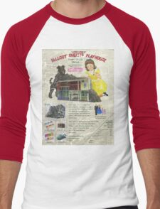 Atomic Ads - MILEMCO Girls Fallout Shelter Playhouse Men's Baseball ¾ T-Shirt