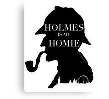 Sherlock Holmes inspired Fan gear Canvas Print