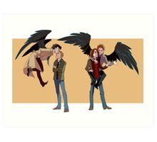 My Crazy Angel Art Print
