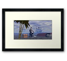 Partners In Crime and Love Framed Print