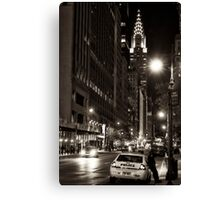 Police on call Canvas Print