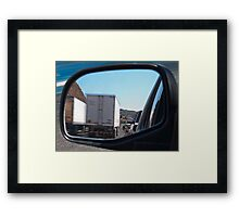 Side-view Framed Print