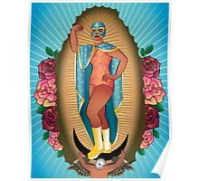 Lucha Guadalupe Poster