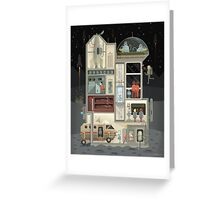 Moon Base Greeting Card